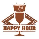 Cocktails design. Over white background vector illustration Stock Images