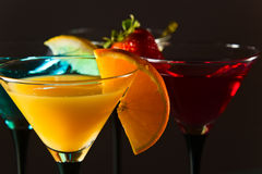 Cocktails Royalty Free Stock Photos