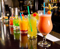 Cocktails Royalty Free Stock Photo