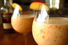 Cocktails fruités Image libre de droits