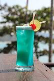 Cocktails, Hawill bleu Images libres de droits