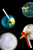 Cocktails isolated Royalty Free Stock Photos