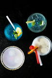 Cocktails isolated Stock Image