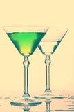 Cocktails isolated on white background. Splash. Stock Photos