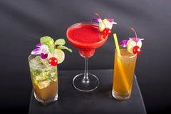 Cocktails mélangés Photographie stock