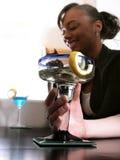 Cocktails na het Werk stock afbeeldingen