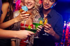 Cocktails potables Image stock