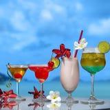 cocktails quatre Images libres de droits