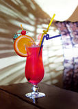 Cocktails rouges Image libre de droits