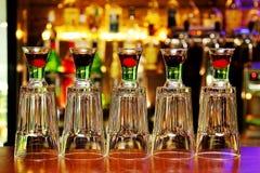 Cocktails rouges et verts Photographie stock libre de droits