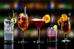 Cocktails Stock Image
