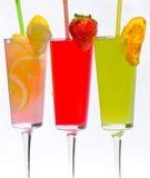 Cocktails tropicaux Photo libre de droits