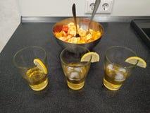 Cocktails van arak stock afbeeldingen