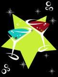cocktails12 向量例证