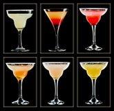 Cocktailsammlung Stockbilder