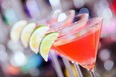Cocktailsammlung - kosmopolitisch lizenzfreies stockfoto