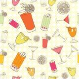 Cocktailsillustratie Royalty-vrije Stock Foto