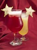 Cocktailsinzameling - Carambola-Cocktail Royalty-vrije Stock Foto