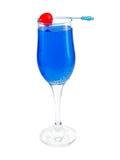 Cocktailsinzameling - de Blauwe Herinnering van Absolut Stock Afbeelding