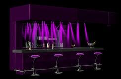 Cocktailstab lizenzfreie abbildung