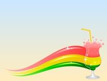 Cocktailwelle Lizenzfreies Stockfoto