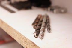 Coclee per metallo e la pietra fotografia stock