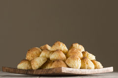 Cocnut macaroons Stock Images