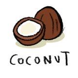 coco Imagens de Stock Royalty Free