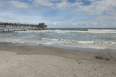 Coco Beach. This is a photo of Coco Beach in Florida on a beautiful day Stock Images