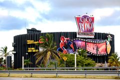 Coco Bongo club in Punta Cana, Dominican Republic stock images