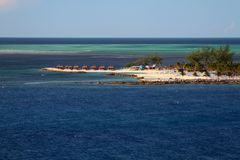 Coco Cay Bahamas Royalty-vrije Stock Foto's