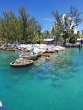 Coco Cay Królewska Karaibska Intymna wyspa zdjęcie royalty free