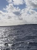 Coco Cay Królewska Karaibska Intymna wyspa obrazy royalty free
