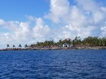 Coco Cay Królewska Karaibska Intymna wyspa Fotografia Royalty Free