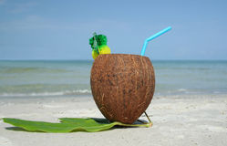 Coco drink 1 Stock Image