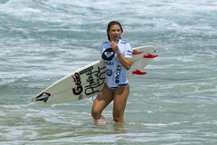 Coco Ho - Roxy Pro 2011 Stock Photos