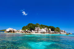 Coco island in Seychelles Stock Photos