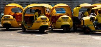 Coco - minicabs Havana Cuba Stock Photos