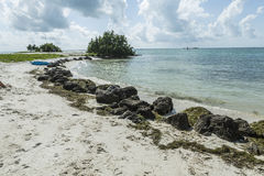Coco Plum Beach, Florida Royalty Free Stock Image