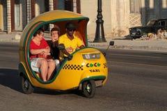 Coco taxi Royalty Free Stock Photos