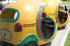 Coco taxi, Havana Royalty Free Stock Image