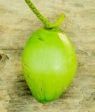 Coco verde fresco fotografía de archivo