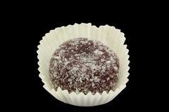 Coco y bocado negro del arroz Fotos de archivo