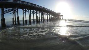 Cocoa Beach Florida stock video footage