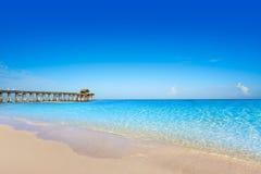 Cocoa Beach pier in Cape Canaveral Florida Stock Image