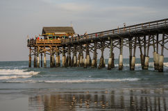 Cocoa Beach Pier Stock Photography