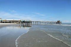 Cocoa Beach Pier, Florida royalty free stock photo