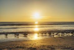 Cocoa Beach at Sunrise Stock Photo