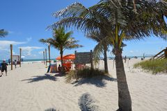 Cocoa Beach Welcomes You Royalty Free Stock Image