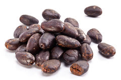 Cocoa beans Royalty Free Stock Images